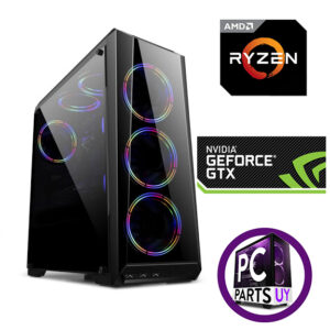 Equipo AMD Ryzen 5 5600x / GTX 1660SUPER 6GB / 8Gb Ram / ssd 240gb / 3 fans rgb