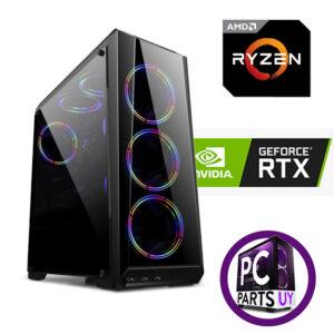 Equipo AMD Ryzen 5 5600x / RTX 3060 12GB / 8Gb Ram / ssd 240gb / 3 fans rgb