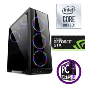 Equipo intel i5 10400f  / GTX 1660 SUPER 4gb / 8Gb Ram / ssd 240gb / 3 fans rgb