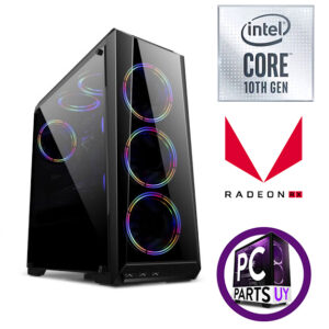 Equipo intel i5 10400f / Rx 560 / 8Gb Ram / ssd 240gb / 3 fans rgb